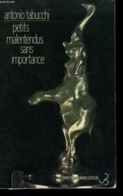 Petits Malentendus Sans Importance - Couverture - Format classique