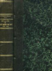 Les Conspirations Et La Fin De Jean, Baron De Batz 1793-1822 - Couverture - Format classique