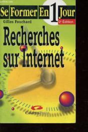 Se Former A La Recherche Sur Internet En Un Jour - Couverture - Format classique