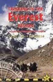 Everest, region trekking - Couverture - Format classique
