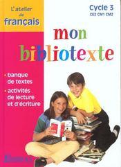 Français ; cycle 3 ; manuel de l'élève - Intérieur - Format classique