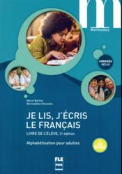 Je lis, j'écris le français ; livre de l'élève (2e édition) - Couverture - Format classique