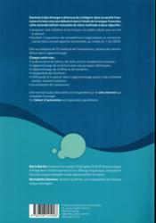 Je lis, j'écris le français ; livre de l'élève (2e édition) - 4ème de couverture - Format classique