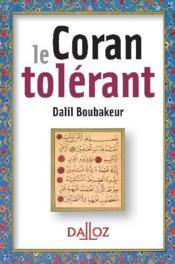 Le Coran tolérant - Couverture - Format classique