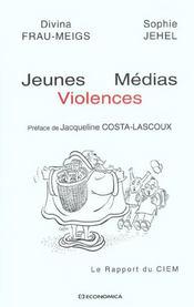 Jeunes medias violences - Intérieur - Format classique