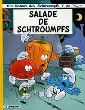 Les schtroumpfs t.24 ; salade de schtroumpfs - Intérieur - Format classique