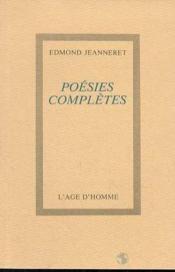 Poesies Completes - Couverture - Format classique