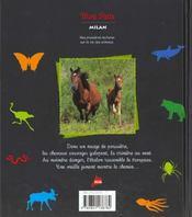 Le cheval, libre comme le vent - 4ème de couverture - Format classique