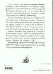 Mysteres des iles - 4ème de couverture - Format classique
