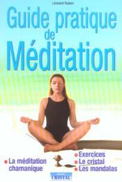 Guide Pratique De Meditation - Couverture - Format classique