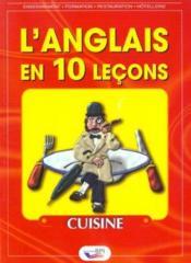 L'anglais en 10 leçons ; cuisine - Couverture - Format classique