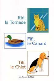 Riri, La Tornade Fifi, Le Canard Titi, Le Chiot - Couverture - Format classique