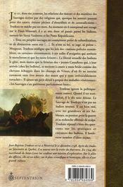 Voyage sur le Haut-Missouri ; 1794-1796 - 4ème de couverture - Format classique