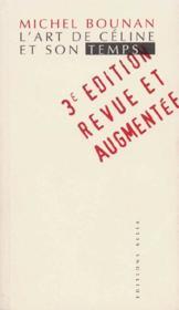 L'Art De Celine Et Son Temps (5e édition) - Couverture - Format classique