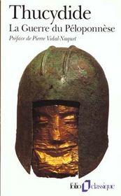La guerre du Péloponnèse - Intérieur - Format classique