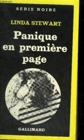 Collection : Serie Noire N° 1794 Panique En Premiere Page - Couverture - Format classique