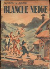 Blanche Neige - Couverture - Format classique