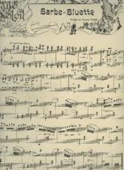 Piano Soleil - N°24 Du 15 Decembre 1901 : Barbe Bluette + Jeanne D'Arc + Romance Sans Paroles + Pas Des Eventails. - Couverture - Format classique