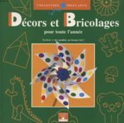 Decors Bricolages Pour Toute L'Annee - Couverture - Format classique