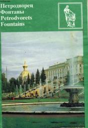 Les Parcs De Petrodvorets - Les Fontaines - Couverture - Format classique