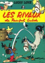 Lucky Luke N°19 - Les Rivaux De Painful Gulck - Couverture - Format classique