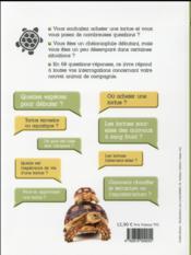 Et si on achetait une tortue ? - 4ème de couverture - Format classique