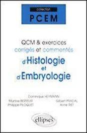 Qcm Et Exercices Corriges Et Commentes D'Histologie Et D'Embryologie - Intérieur - Format classique