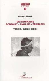 Dictionnaire Songhay (T2) Anglais Francais - Couverture - Format classique