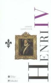 Henri iv - Couverture - Format classique