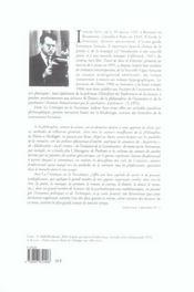 La creatique ou la novatique 1941-1976 - 4ème de couverture - Format classique