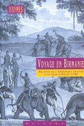 Voyage en Birmanie - Intérieur - Format classique