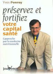 Preservez Et Fortifiez Votre Capital Sante - Intérieur - Format classique