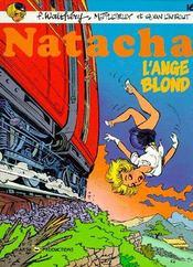Natacha T.16 ; l'ange blond - Couverture - Format classique