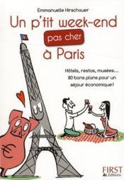 telecharger Un p'tit week-end pas cher a Paris livre PDF en ligne gratuit