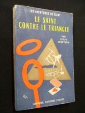 Le Saint contre le triangle - Couverture - Format classique