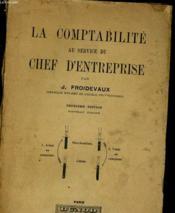 La Comptabilite Au Service Du Chef D'Entreprise - Couverture - Format classique