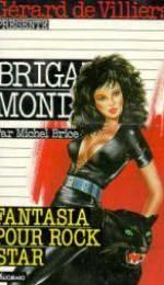 Brigade mondaine t.120 ; fantasia pour rock star - Couverture - Format classique
