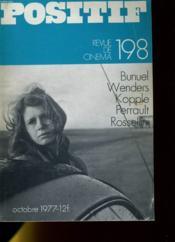 Positif N°198 - Bunuel, Wenders, Kopple, Perrault, Rossellini - Couverture - Format classique