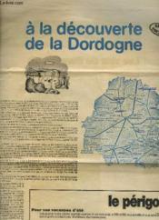 A La Decouverte De La Dordogne - Couverture - Format classique