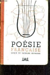 Poesie Francaise. - Couverture - Format classique