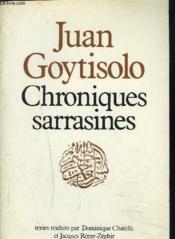 Chroniques sarrasines - Couverture - Format classique