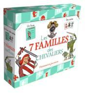 Les 7 familles des chevaliers - Couverture - Format classique
