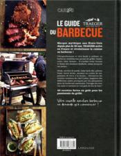 La guide Traeger du barbecue - 4ème de couverture - Format classique
