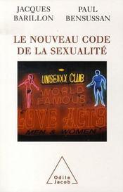 Le nouveau code de la sexualité - Intérieur - Format classique