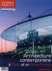Connaissance Des Arts N.311 ; Architecture Contemporaine A Paris Et En Ile-De-France - Intérieur - Format classique