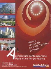 Connaissance Des Arts N.311 ; Architecture Contemporaine A Paris Et En Ile-De-France - 4ème de couverture - Format classique
