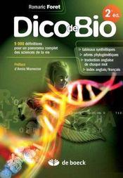 Dico de bio (2e édition) - Intérieur - Format classique
