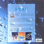 Le Grand Livre De L'Eau - 4ème de couverture - Format classique