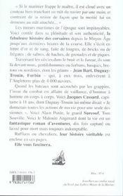 Histoire des corsaires - 4ème de couverture - Format classique
