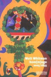 Walt whitman, hom(m)age, 2005-1855 - Intérieur - Format classique